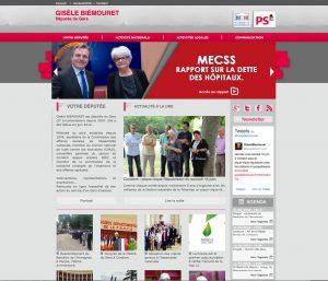Le site de Gisèle Biemouret